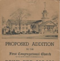 Image of Broadside, First Congregational Church, 1944