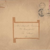 Image of Envelope that the sheet music was in
