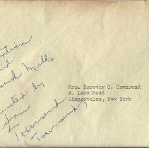 Image of Old Sparhawk Mills envelope