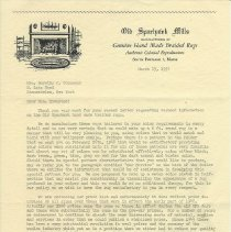 Image of Letter to Dorothy Townsend
