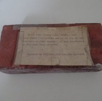 Image of Brick from Varney Hall, SMVTI