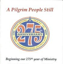 Image of 275th Anniversary Program, First Congregational Church