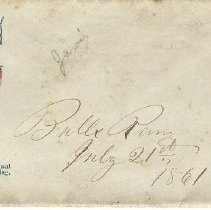 Image of Envelope containing letter