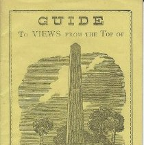 Image of Guide to Views from the Top of the Bunker Hill Monument