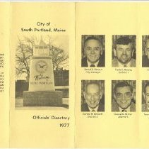 Image of City Officials Directory, 1977