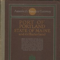 Image of Port of Portland, Maine, 1923 edition