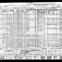 Image of 1940 census - Frank L. Prout