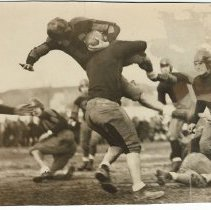 Image of Dick Eustis tackles