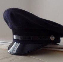 Image of SPPD police officer Chet Daicy, Jr.'s hat