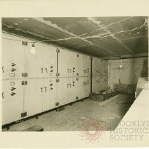 Image of [Construction - vault view 12] - Williamsburgh Savings Bank Building photographs and architectural drawings
