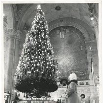 Image of [Holidays view 11] - Williamsburgh Savings Bank Building photographs and architectural drawings
