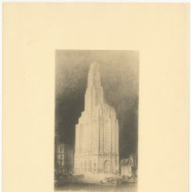 Image of [Drawing 2] - Williamsburgh Savings Bank Building photographs and architectural drawings
