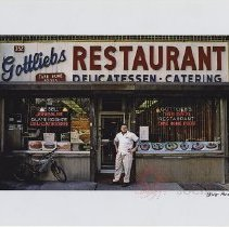 Image of Gottlieb's Restaurant - James and Karla Murray Counter Culture exhibition photographs
