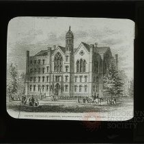 Image of [Packer Collegiate Institute exterior drawing] - Packer Collegiate Institute records