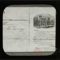 Image of [Brooklyn Female Academy invitation] - Packer Collegiate Institute records