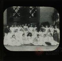 Image of Greek Play, 1885 - Packer Collegiate Institute records
