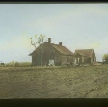 Image of [Johannes Emmans Homestead in Flatlands, Brooklyn, New York] - Brooklyn, Manhattan, and Long Island lantern slide collection
