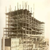 Image of [Exterior Views - Construction view 9] - Williamsburgh Savings Bank Building photographs and architectural drawings