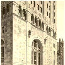 Image of [Exterior Views - Construction view 16] - Williamsburgh Savings Bank Building photographs and architectural drawings