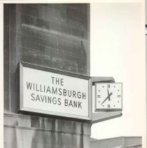 Image of [Exterior Views - early exterior view 18] - Williamsburgh Savings Bank Building photographs and architectural drawings