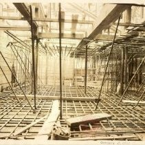 Image of [Construction - foundations and framework view 2] - Williamsburgh Savings Bank Building photographs and architectural drawings