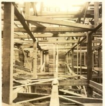 Image of [Construction - foundations and framework view 17] - Williamsburgh Savings Bank Building photographs and architectural drawings