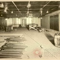 Image of [Construction - vault view 13] - Williamsburgh Savings Bank Building photographs and architectural drawings
