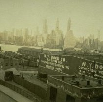 Image of [Brooklyn waterfront] - Brooklyn photograph and illustration collection