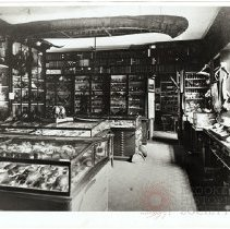 Image of [Collection Storage, Long Island Historical Society Hamilton Building, Court and Jorelamon Streets] - Long Island Historical Society photographs