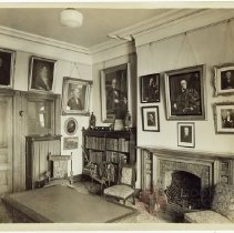 Image of Long Island Historical Society, the Directors' Room - Long Island Historical Society photographs