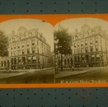 Image of U. S. Court House, Brooklyn - Early Brooklyn and Long Island photograph collection
