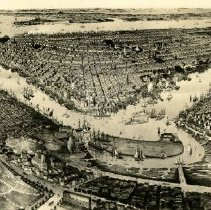 Image of Bird's Eye View of the City of N.Y. - Brooklyn photograph and illustration collection