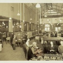 Image of Post Office Scene - Brooklyn photograph and illustration collection