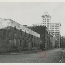 Image of Site of Eagle Empire Stores, Brooklyn, N.Y. - Brooklyn photograph and illustration collection