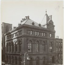 Image of [Long Island Historical Society, Clinton and Pierrepont Streets] - Long Island Historical Society photographs