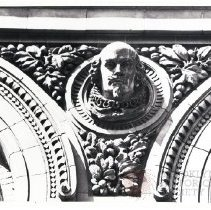 Image of [Architectural Detail, William Shakespeare, Long Island Historical Society] - Long Island Historical Society photographs