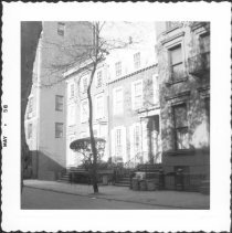 Image of [Small building at right center is #176 Columbia Heights.] - John D. Morrell photographs