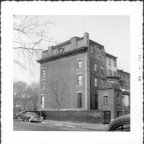 Image of [Northeast corner of Willoughby Avenue, facing Washington Park (at left in distance).] - John D. Morrell photographs