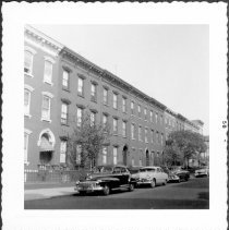 Image of [View of north side of Milton Street.] - John D. Morrell photographs