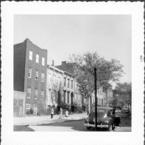 Image of [View of north side of Kent Street.] - John D. Morrell photographs