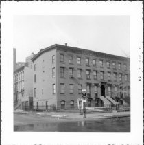 Image of [Northwest corner of Willoughby & Washington Avenues.] - John D. Morrell photographs