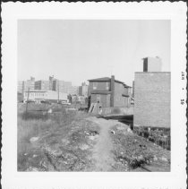 Image of [House facing on E. 104th Street.] - John D. Morrell photographs