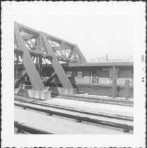 Image of [View of portion of Smith-9th Street Station (IND).] - John D. Morrell photographs