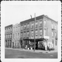 Image of [East side of Clinton Street looking north.] - John D. Morrell photographs