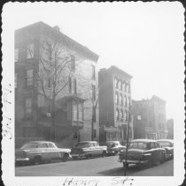 Image of [East side of Henry Street looking south.] - John D. Morrell photographs