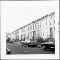 Image of [View of north side of Second Street.] - John D. Morrell photographs