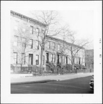 Image of [View of north side of Second Street looking east.] - John D. Morrell photographs