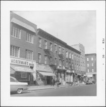 Image of [West side of Hoyt Street.] - John D. Morrell photographs