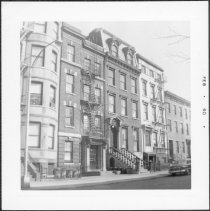 Image of [North side of Amity Street.] - John D. Morrell photographs