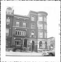 Image of [Clinton Avenue (at southwest corner of DeKalb Avenue and Clinton Avenue.). ] - John D. Morrell photographs